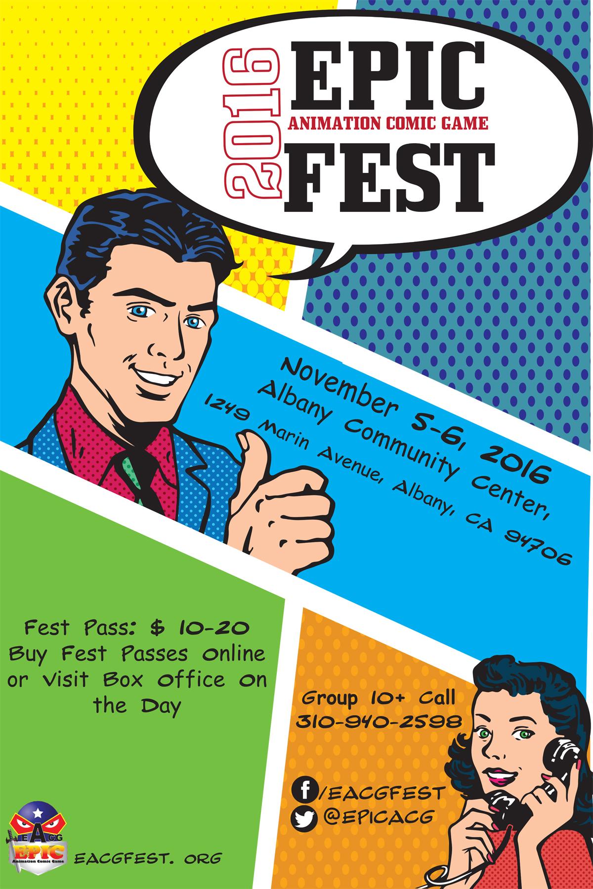 2016 Epic ACG Fest Poster